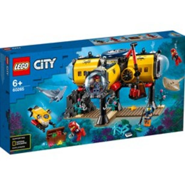 LEGO City 60265 LEGO® Ocean Exploration Base för 596 kr