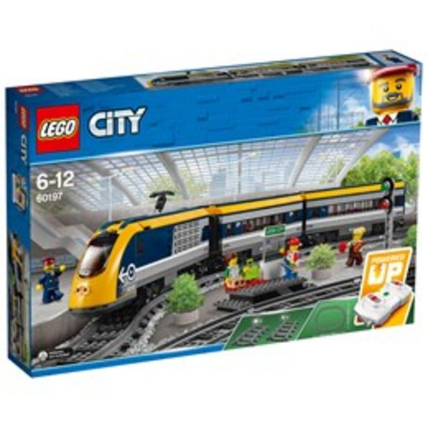 LEGO City 60197 LEGO® City Passagerartåg för 1192 kr