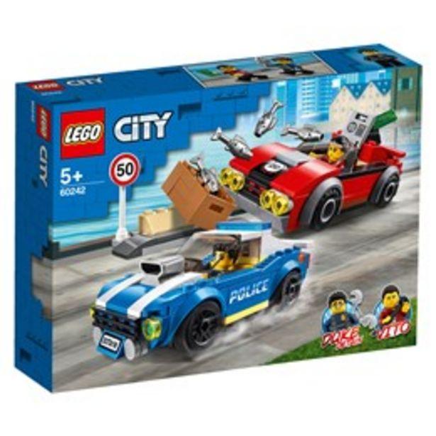 LEGO City 60242 LEGO® City Motorvägsarrestering för 259 kr
