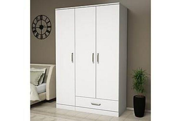 Garderob Dacion 121 cm för 4495 kr