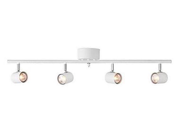 Spotlight Alpha 83 cm 4 Lampor Vit för 468 kr