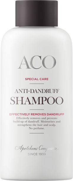 ACO Special Care Anti-Dandruff Shampoo No Perfume 200 ml för 42,5 kr