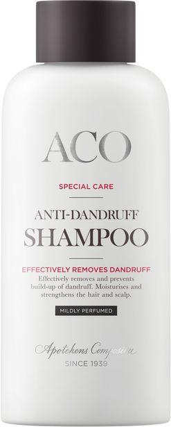 ACO Special Care Anti-Dandruff Shampoo Mildly Perfumed 200 ml för 42,5 kr