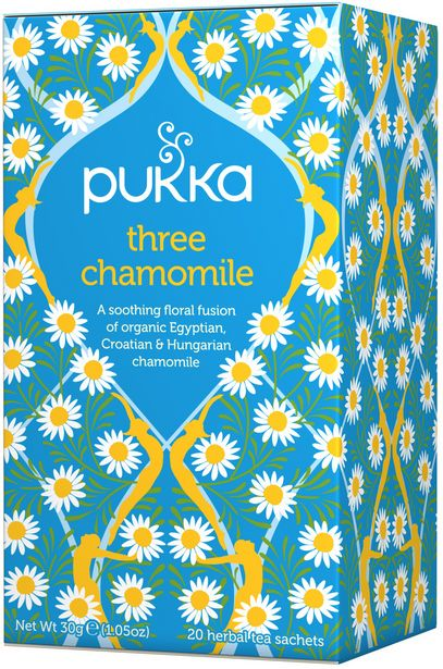 Pukka Örtte Three Chamomile 20-pack för 28 kr