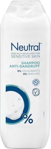 Neutral Shampoo Anti Dandruff 250 ml för 20,25 kr