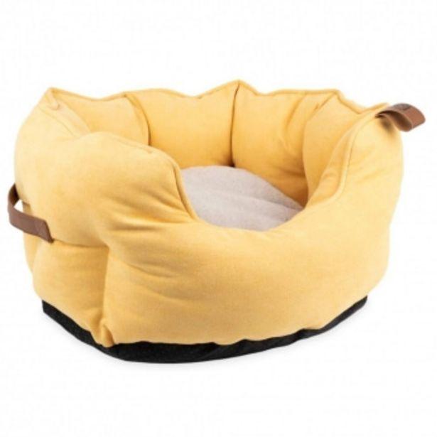 Basic Cuddle Hundbädd Gul för 209 kr