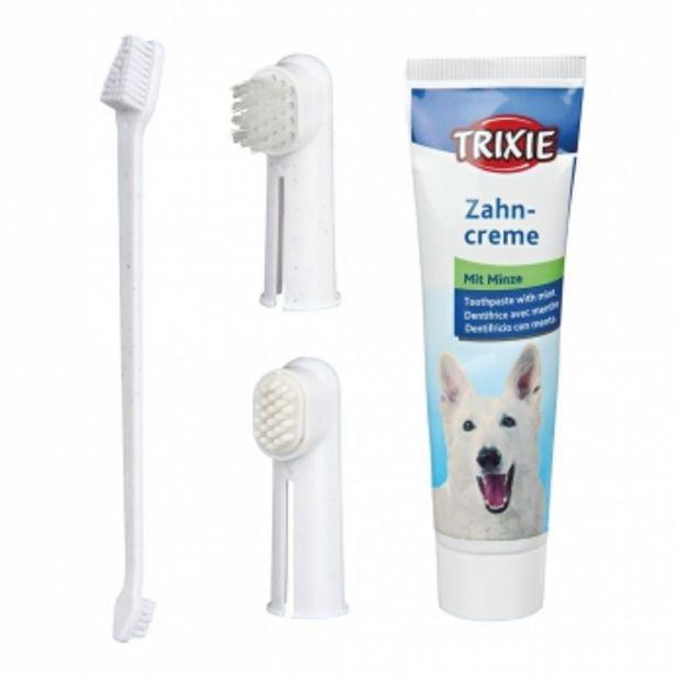 Trixie tandvårdsset, tandkräm med mintsmak för 79,9 kr