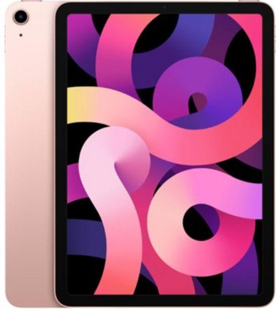 """Apple iPad Air 10,9"""" (2020) 64GB Roséguld för 6499 kr"""