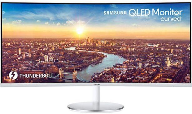 """Samsung 34"""" C34J791T Curved (1500R) QLED för 7999 kr"""