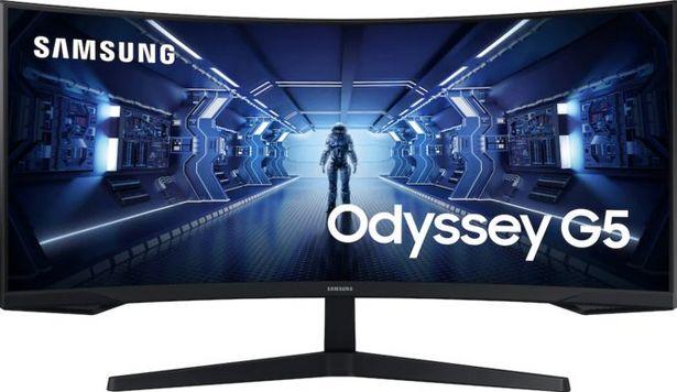 Samsung 34'' Odyssey C34G55 QHD Curved (1000R) 165 Hz för 4999 kr