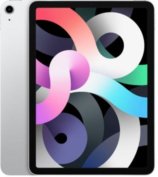 """Apple iPad Air 10,9"""" (2020) 64GB Silver för 6890 kr"""