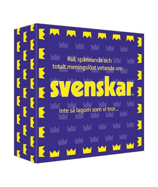 Spel – Svenskar för 198 kr
