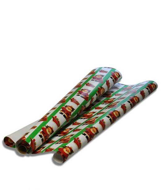 Julklappspapper Jultomte för 29 kr