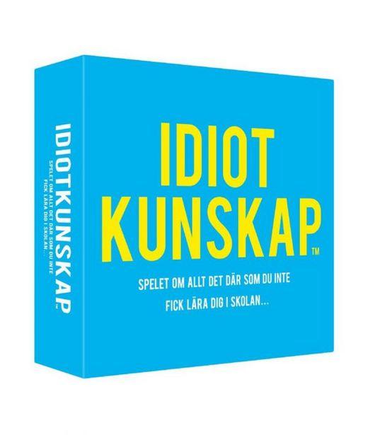 Spel – Idiotkunskap! för 198 kr