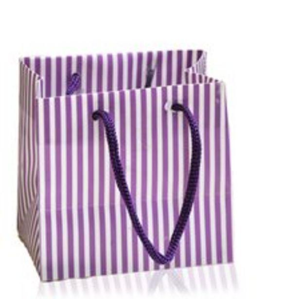 Påse randig purple för 10 kr