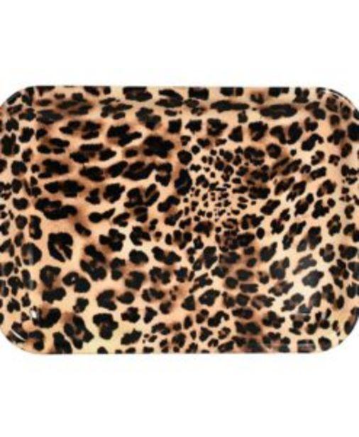 Bricka Leopard 46cm för 39 kr