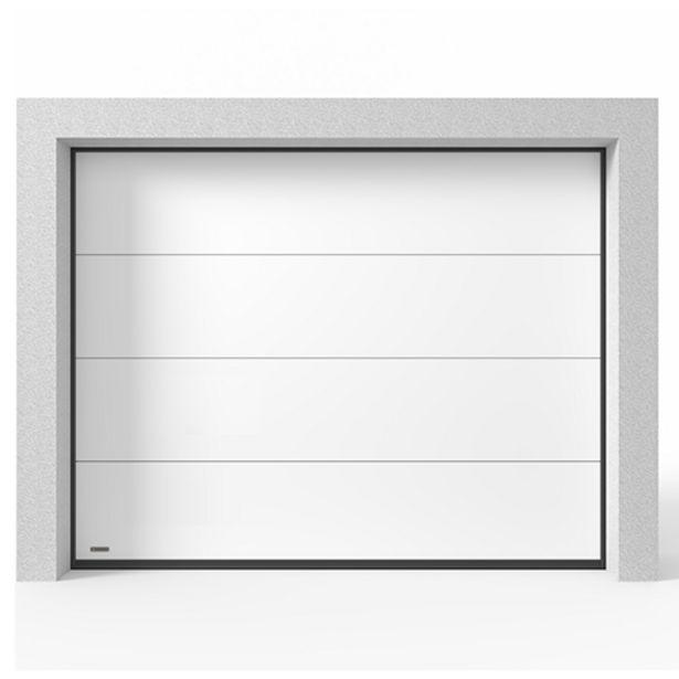 Takskjutport Modern Garageport för 8559 kr
