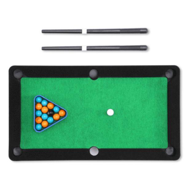 Tabletop pool game för 5 kr
