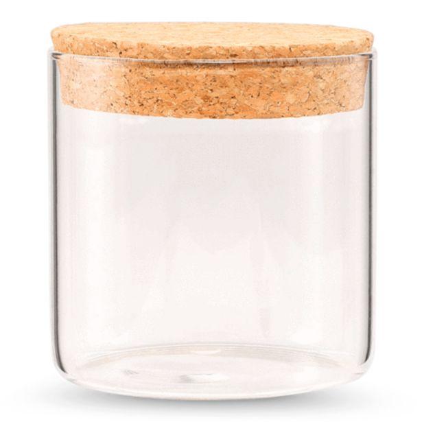 Glass container för 3 kr