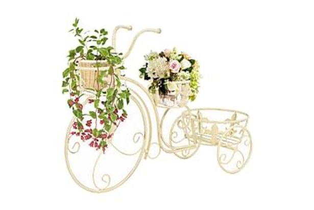 Växtställ cykel vintage stil metall för 895 kr