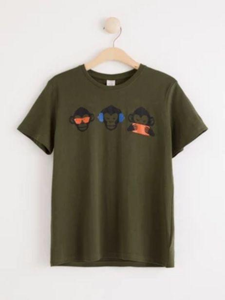 T-shirt med apor för 99 kr