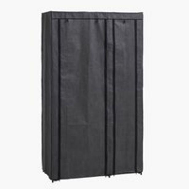 Garderob DAMHUS 100x174 mörkgrå för 225 kr