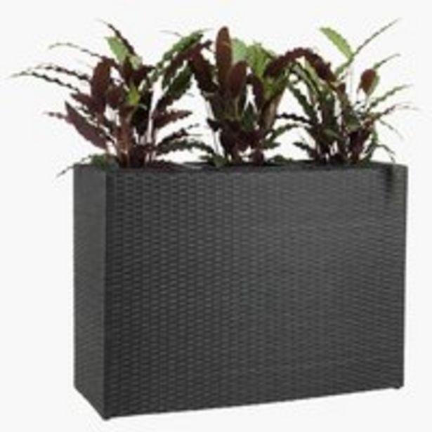 Blomlåda STOKKAND B30×L84×H60 svart för 1199 kr