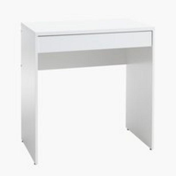 Skrivbord HERLEV 49x75 vit för 650 kr
