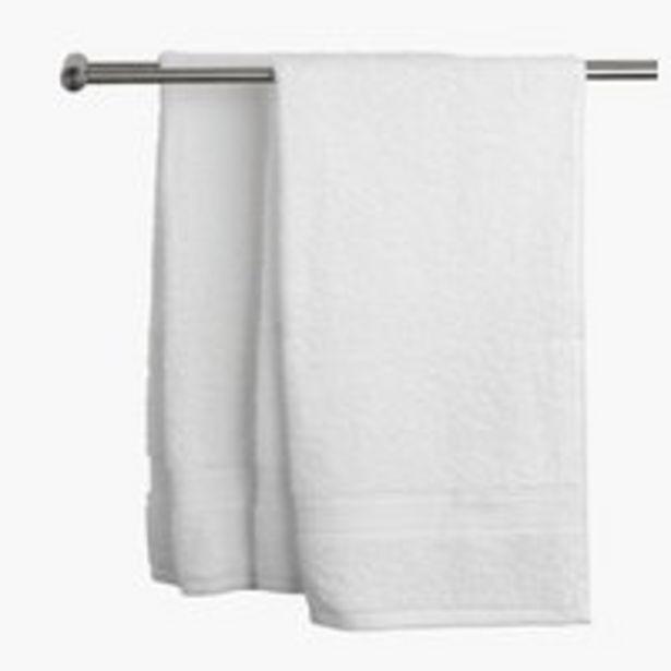 Handduk UPPSALA 50x70 vit för 17,5 kr