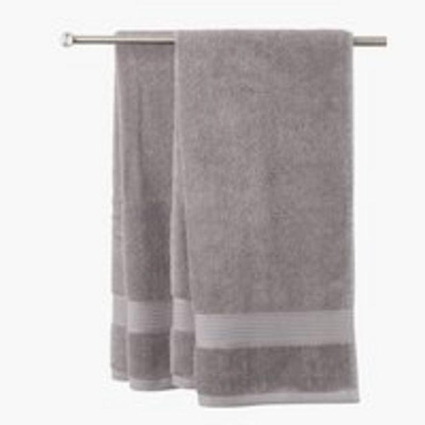 Handduk KARLSTAD 50x70 grå för 2 kr