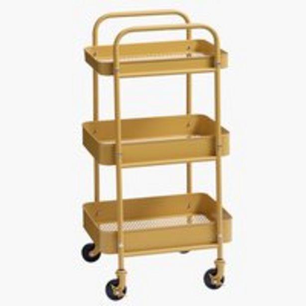 Rullvagn ROLL IT gul för 400 kr