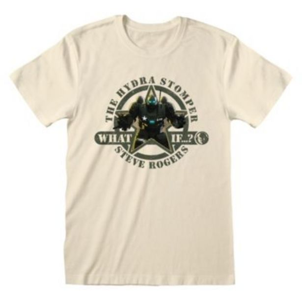 Disney Store Steve Rogers The Hydra Stomper T-Shirt for Adults, Marvel What If...? för 18 kr