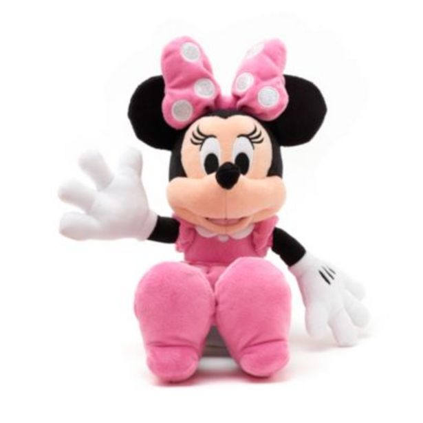 Disney Store Minnie Mouse Small Pink Soft Toy för 25,9 kr