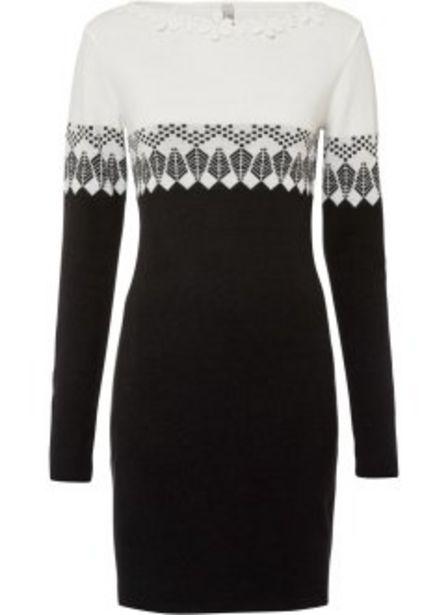 Stickad klänning för 349 kr