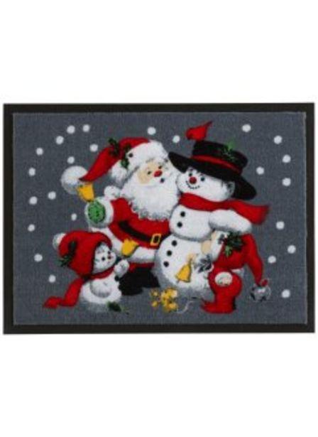 Dörrmatta med julmotiv för 79 kr