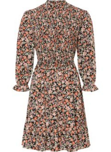 Mönstrad klänning av återvunnen polyester för 299 kr