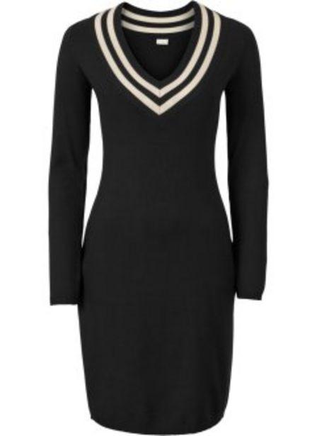 Stickad klänning för 249 kr
