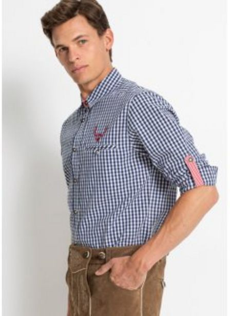Folkdräktsinspirerad skjorta för 159 kr