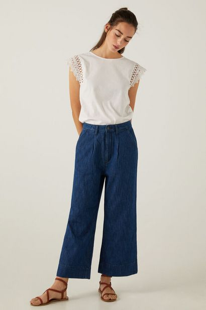 Lightweight culotte jeans för 19,99 kr