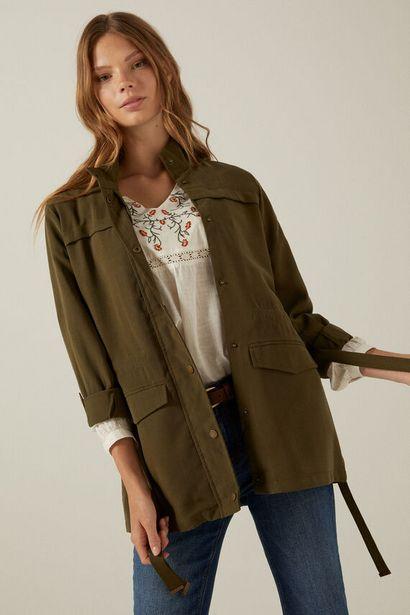 Fluid safari jacket för 44,99 kr