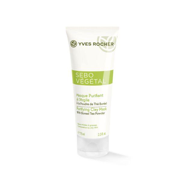 Ansiktsmask - uppfriskande och rengörande, kombinerad till fet hud, 75 ml för 75 kr