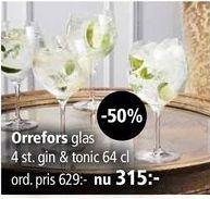 Glas för 315 kr
