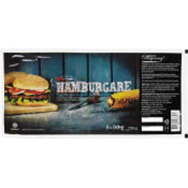 Hamburgare Fryst 8x90g 720g ICA för 54,9 kr