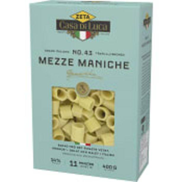 Mezze Maniche 400g Zeta för 16,9 kr