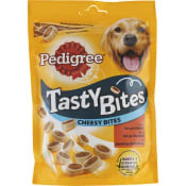 Hundgodis Tasty Bites Ost & oxkött 140g Pedigree för 23,5 kr