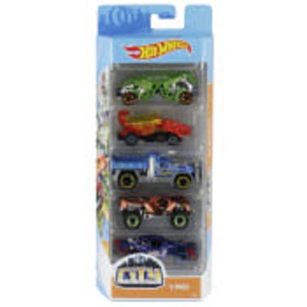 Bilar 5-p Hot Wheels  för 129 kr