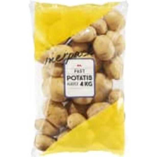 Potatis Fast 4kg ICA för 35,9 kr