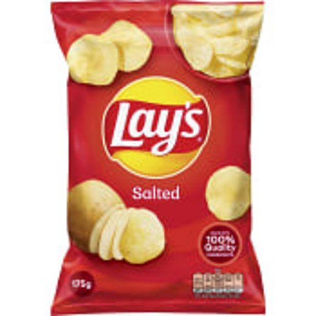 Chips Salted 175g Lay´s för 20,9 kr