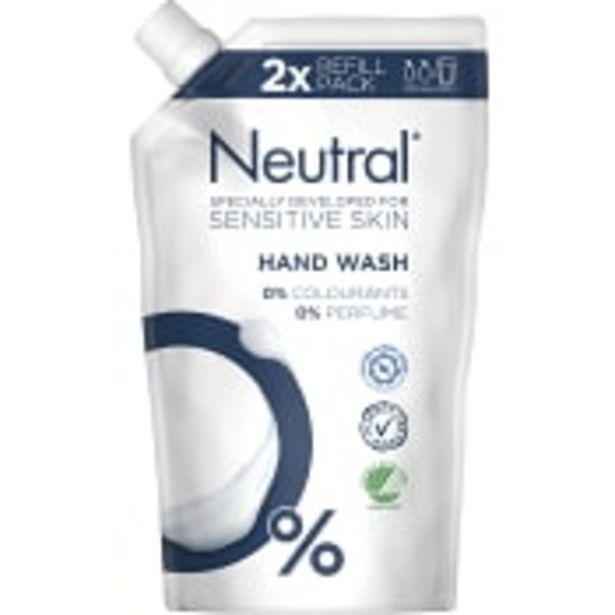 Flytande Tvål Refill 500ml Neutral för 30,9 kr