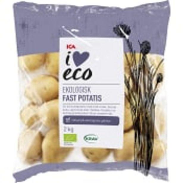 Fast potatis Ekologisk 2kg KRAV Klass 1 ICA I love eco för 55,9 kr